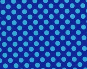 Cobalt Ta Dot from Michael Miller Fabrics