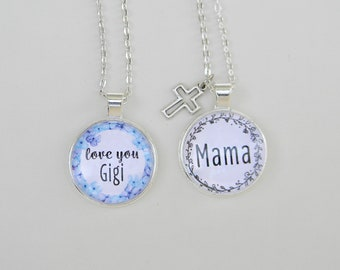 "24"" Personalized Mother's Day Necklaces – Jewelry Gift for Moms and Grandmas"