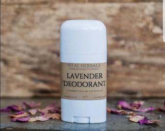 Organic deodorant - deodorant - probiotic deodorant - natural deodorant - herbal deodorant - aluminum free - homemade deodorant