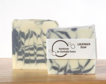 Lavender soap - handmade - vegan friendly - palm free - sls free - paraben free