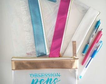 Bag // Zipper Pouch // Pens
