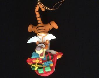 Disney Christmas Magic Ornament Tigger 207, Grolier