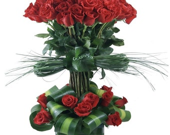 75 Premium Red Roses. LOCAL DELIVERY to: 33160, 33180, 33162, 33179, 33154, 33004, 33009, 33019, 33020, 33021