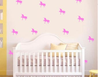 40 Unicorns - Decorative wall decal