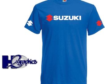 Suzuki Tribute T-Shirt New Mens Sizes Small to 3XL