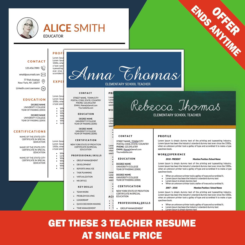 Elementare Lehrer Lebenslauf Lebenslauf Vorlage Lehrer
