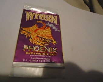 Vintage 1995 U.S. Game Systems Wyvern Expansion Set Pack Sealed In Package, collectable