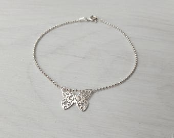 """Butterfly"" - Creation of chip bracelet"