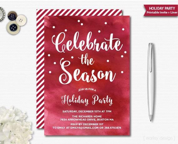 holiday invitation paper koni polycode co