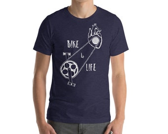 Our Bike 4 Life shirt is for people who are passionate about cycling.