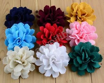 Chiffon Flower, Fabric Flower, Headband Flower, DIY Supplies H10042