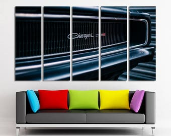 Dodge Charger art Dodge wall art Dodge canvas Dodge home decor Dodge print Dodge photo Dodge poster Old car wall art Old car canvas Prints