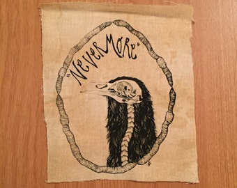 Nevermore Raven Patch