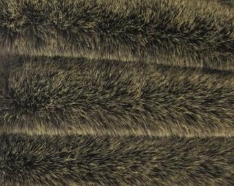 "TIS-44 - Tissavel Faux Fur Fabric. A ""fat"" 1/4 yard of Intercal's Quality TIS-44 - Soft, Dense 3/4"" pile length plus Guard Hairs."