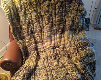 Beautiful Knit Afghan