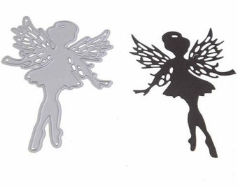 2x3.5 inch Tattered Winged Fairy Die
