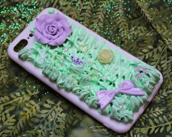 Flower Decoden Phone Case - iPhone 7 plus