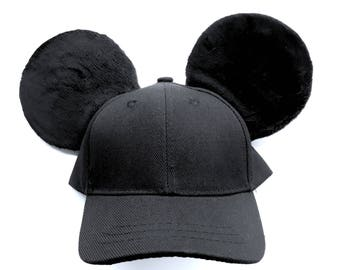 Mickey Mouse Inspired Mouse Ears Baseball Cap!