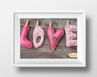 valentine embroidery kit valentine needlework kit love needlework easy needlework heart needlepoint valentine stitchery diy valentines gift