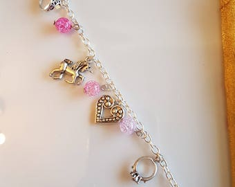 Pretty Pink Princess armband
