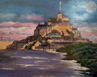 Mont St Michel Fantasy