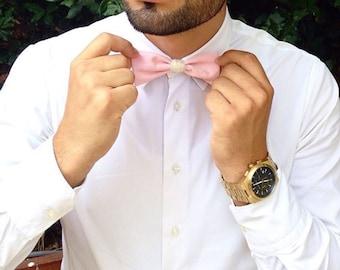 "Bow tie ""Bousco Pink"""