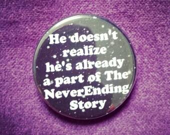 """badge """"neverending story"""""""
