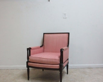 Vintage Lawsonia French Regency Living Room Lounge Arm Chair