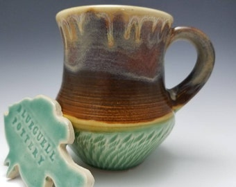 Chattered coffee mug
