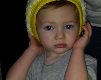 Baby Soft Hat with Trim