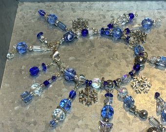 Winter Blue Bracelet No. 2