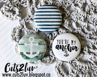 "3 buttons 1 ""My Anchor"