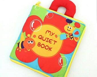 Quiet Activity Busy Book