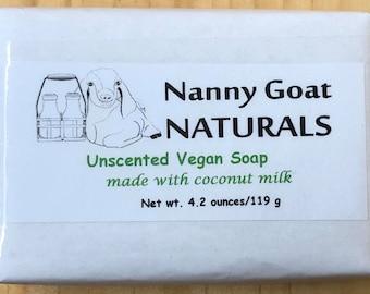 Unscented Vegan Soap