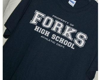 TWILIGHT Forks High School T Shirt