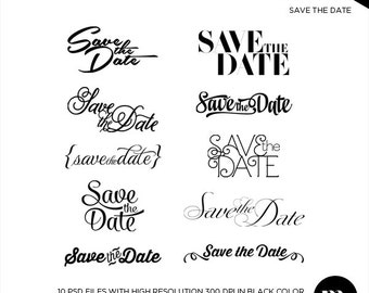 save the date word template