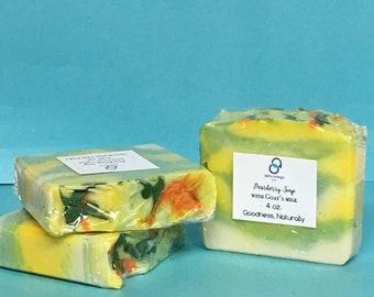 Pearberry Soap/ Goat's Milk Soap/Moisturizing Soap/ Gentle Soap/ Goat's Milk Soap/ Women's Soap/ conditioning soap