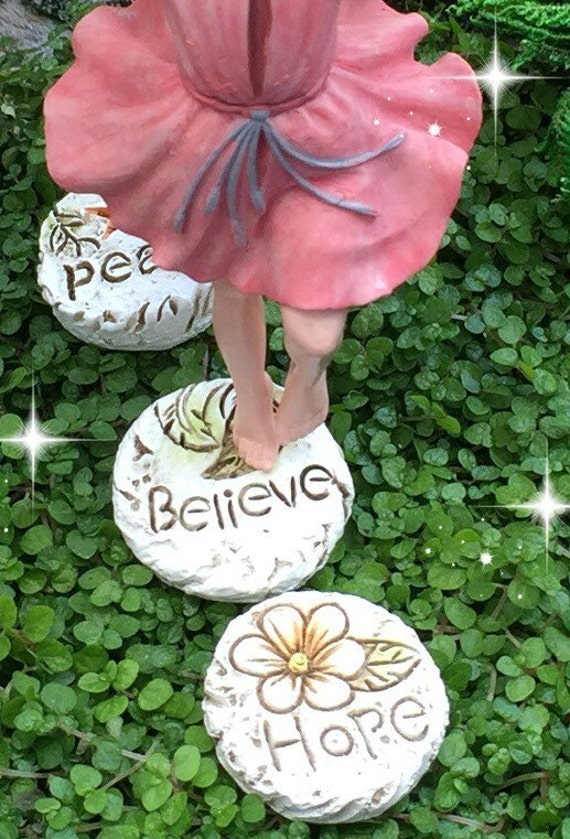 Fairy garden step stones miniature stepping stones fairy garden fairy garden step stones miniature stepping stones fairy garden pavers inspirational fairy garden miniature garden accessories believe from workwithnaturefo