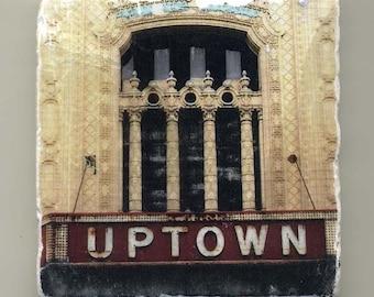 Uptown Theater  -  Original Coaster