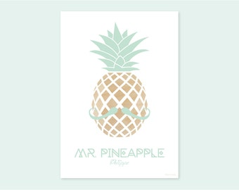 A4 print MR. PINEAPPLE Philippe