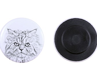 Magnet with a cat - Persian