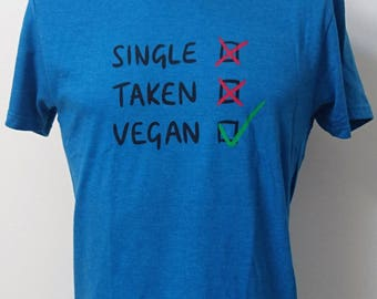 Single/Taken/Vegan ~ 100% Recycled Materials ~ Vegan ~ Ethical ~ Eco-friendly ~ Gender Neutral ~ Hand Drawn