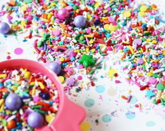 Roller Disco Sprinkle Mix (175g Jar)