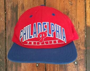 Vintage Philadelphia Phillies MLB American Needle Snapback Baseball Cap
