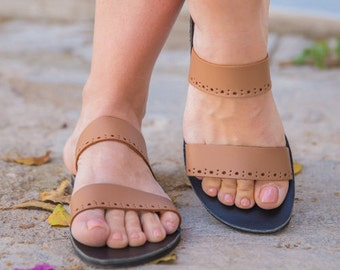Women Sandals,Leather Sandals,Greek Sandals,Handmade Sandals,Flat Sandals,Strappy Sandals,Summer Shoes,Two strap Sandals,Gift for her