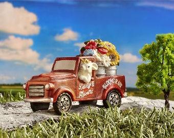 Miniature Garden - Garden Truck - Miniature Fairy Garden Supplies