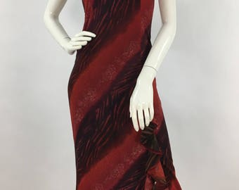 Vintage maxi/Saint Nouvara vintage maxi dress/fitted maxi