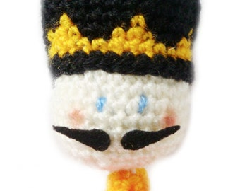 Doll Crochet Pattern -  The Nutcracker - Amigurumi Pattern Doll