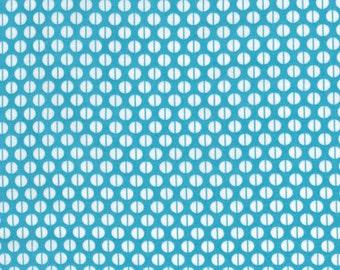 Ella Blue Basic Royal blue Circle Dot geometric quilt fabric - one yard cut