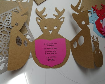 Deer birth announcements